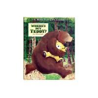«Где мой плюшевый медведь?» мини книга-панорама на английском. Jez Alborough