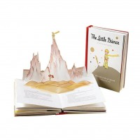 «Маленький принц» книга-панорама на английском. Антуан де Сент-Экзюпери