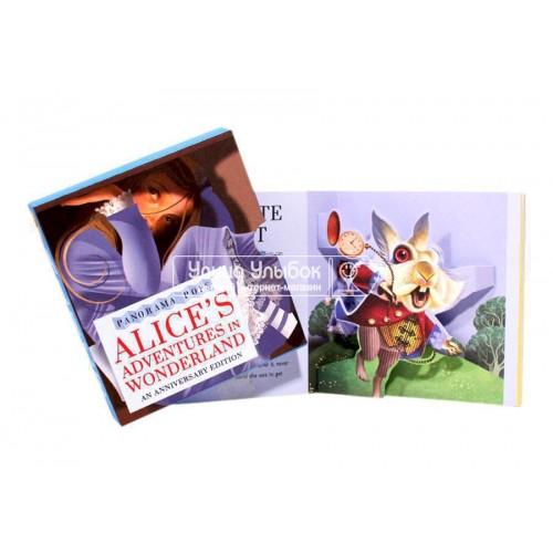«Алиса в стране чудес» книга-гармошка на английском. Грэм Бейкер-Смит