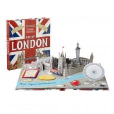 «Путешествие. Лондон» книга-панорама на английском. Дженни Майзелс