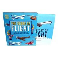 «История воздухоплавания» книга-гармошка на английском. Джон Холкрофт,Джон Холкрофт