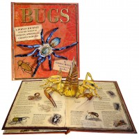 «Жуки, насекомые, пауки. Энциклопедия» книга-панорама на английском. Джордж МакГавин,Джим Кей