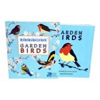 «Садовые птицы» книга-гармошка на английском. Лорна Сайсон