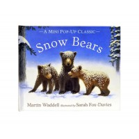 «Снежные медвежата» мини книга-панорама на английском. Мартин Уодделл,Сара Фокс-Дэйвис