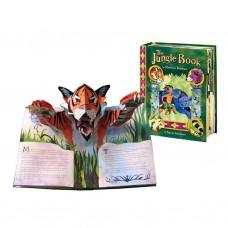 «Книга джунглей» книга-панорама на английском. Мэттью Рейнхарт
