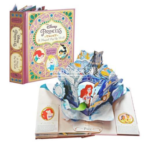 «Принцессы Disney» книга-панорама на английском. Мэттью Райнхарт
