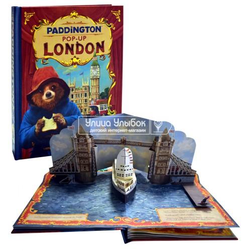 «Приключения Паддингтона» книга-панорама на английском