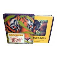«Книга джунглей» книга-гармошка на английском. Никола Бейли