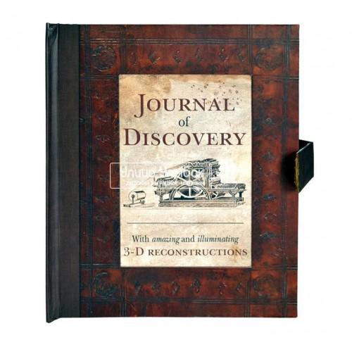 «Журнал открытий» книга-панорама на английском. Питер Райли