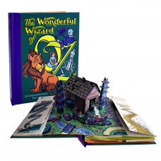 «Волшебник страны Оз» книга-панорама на английском Роберта Сабуды