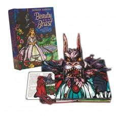 «Красавица и чудовище» книга-панорама на английском. Роберт Сабуда
