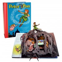«Питер Пэн» книга-панорама на английском дискаунт Роберт Сабуды