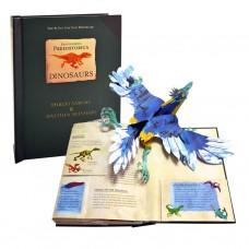 «Динозавры. Энциклопедия древностей» книга-панорама на английском Роберта Сабуды, Метью Рейнхарта