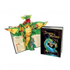 «Драконы и монстры. Энциклопедия мифов» книга-панорама на французском. Роберт Сабуда, Мэттью Рейнхарт