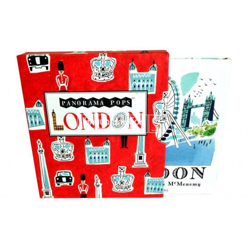 «Знакомство с Лондоном» книга-гармошка на английском. Сара Мак-Менеми