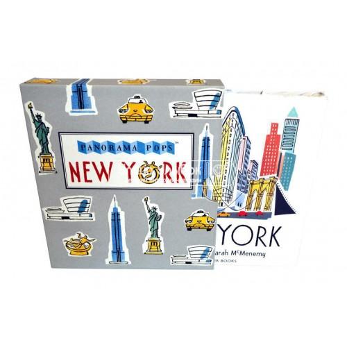 «Знакомство с Нью-Йорком» книга-гармошка на английском. Сара Мак-Менеми