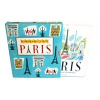 «Романтичный Париж» книга-гармошка на английском. Сара Мак-Менеми