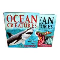 «Жители океана» книга-гармошка на английском. Сара Янг