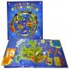 «Мой объемный атлас мира» книга-панорама на русском. Стивен Вотерхауз, Анита Ганери