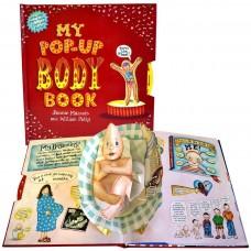 «Трехмерная книга моего тела» книга-панорама на английском. Уилл Петти,Дженни Майзелс