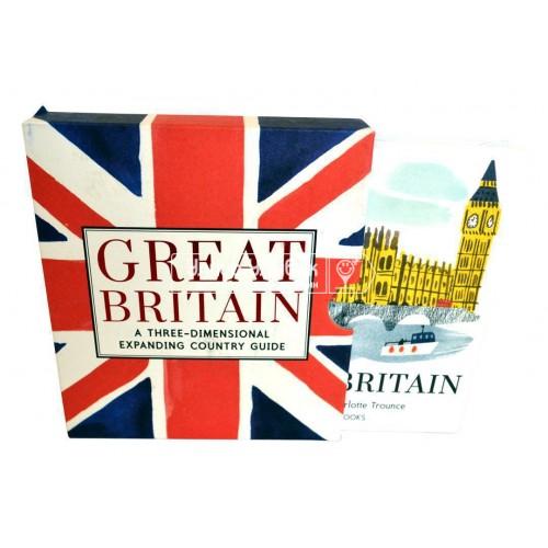 «Живописная Великобритания» книга-гармошка на английском. Шарлотта Трунс
