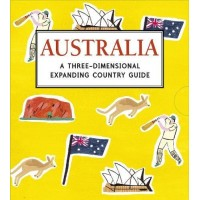 «Удивительная Австралия» книга-панорама на английском Шарлотты Трунс