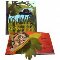 «Как живется в лесу» книга-панорама на английском. Шон Шихи