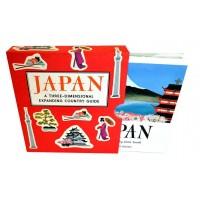 «Поразительная Япония» книга-гармошка на английском. Энн Смит