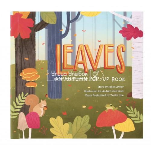 «Что такое осень...Книга для детей и романтиков» книга с окошками на английском Юджина Ким