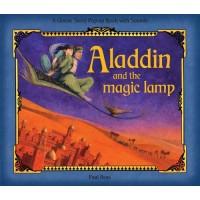 «Аладдин и волшебная лампа» книга-панорама на английском дискаунт Libby Hamilton
