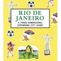 «Яркий Рио-де-Жанейро» книга-панорама на английском Триши Краусс
