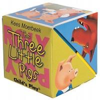 «Три поросенка. Книга в кубе» книга-панорама на английском Кис Моербека