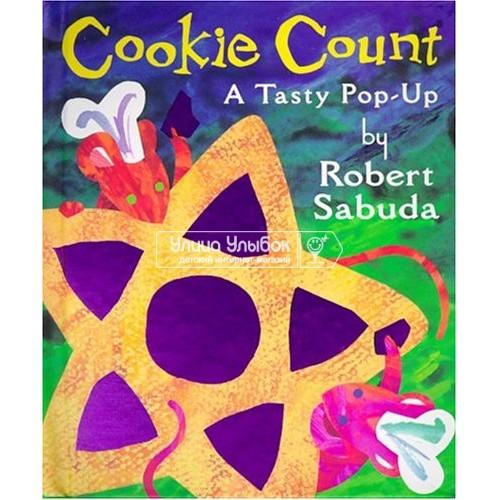 «Счет с печеньем» книга-панорама на английском Роберта Сабуда