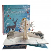 «Снежинки» книга-панорама на английском Дженнифер Чушкофф