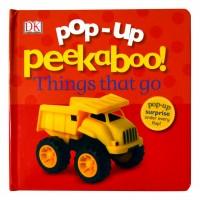 «Транспорт. Игра в прятки» книга-панорама на английском