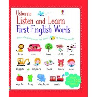 «Первые английские слова. Умная звуковая панель» книга на английском Сэма Таплина