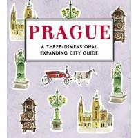 «Магическая Прага» книга-панорама на английском Нина Косфорд