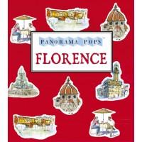 «Прекрасная Флоренция» книга-панорама на английском Сара Мэйкок
