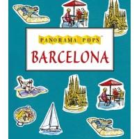 «Барселона, город контрастов» книга-панорама на английском Сары Мэйкок