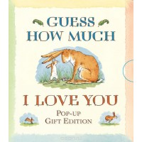 «Знаешь, как сильно я тебя люблю? (мини-издание)» книга-панорама на английском Сэм Макбратни