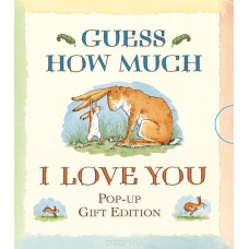 «Знаешь, как сильно я тебя люблю? Мини-издание» книга-панорама на английском Сэма Макбратни