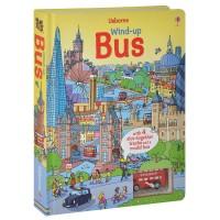 «Лондонский автобус. Игрушка с заводом, дорожки. Серия Wind-up» книга-панорама на английском Фиона Уотт