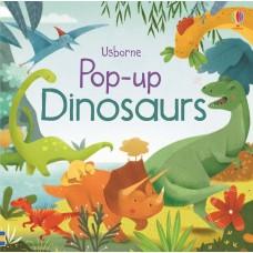 «Динозавры» книга-панорама на английском Фионы Уотт