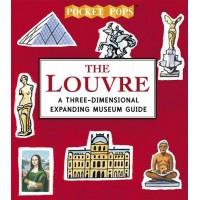 «Лувр – дом Джоконды» книга-панорама на английском Сары Мак-Менеми