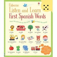 «Первые испанские слова. Умная звуковая панель» книга на английском Сэма Таплина