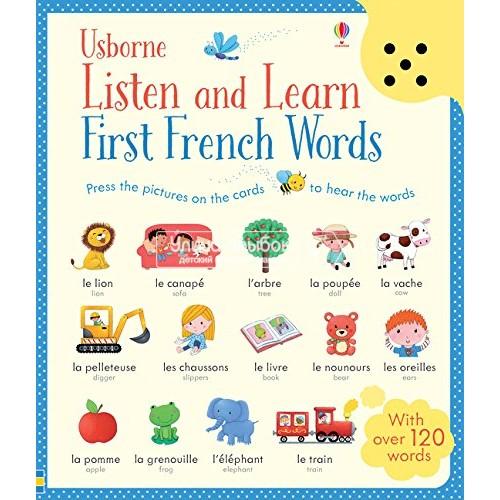 «Первые французские слова. Умная звуковая панель» книга на английском Сэма Таплина