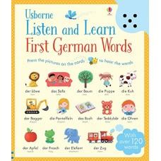 «Первые немецкие слова. Умная звуковая панель» книга на английском Сэма Таплина