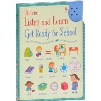 «Первые английские слова для подготовки к школе. Умная звуковая панель» книга на английском Холли Бати