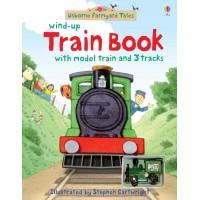 «Фермерский поезд. Игрушка с заводом, дорожки. Серия Wind-up» книга-панорама на английском Джилл Догерти
