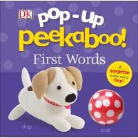 «Первые слова. Игра в прятки» книга-панорама на английском